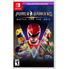 Đĩa Game Nintendo Switch : Power Rangers Battle for the Grid Collector's Edition US