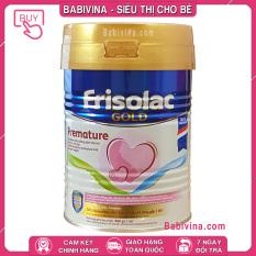 [CHÍNH HÃNG] Sữa Frisolac Gold Premature 400g   Trẻ 0-12 Tháng Sinh Non, Nhẹ Cân, Nhanh Chóng Bắt Kịp Đà Tăng Trưởng   Date Mới Nhất, Giá Tốt Nhất
