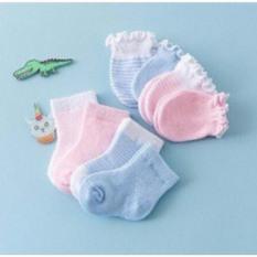 Sét bao tay, bao chân mã mới 100% cotton cao cấp cho bé 0-6 tháng
