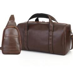 Túi du lịch KÈM túi đeo chéo cao cấp HANAMA N6-S18