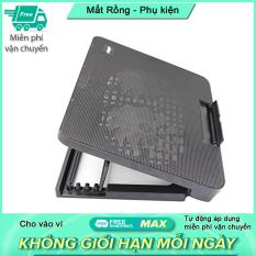 Đế tản nhiệt tuỳ chỉnh độ nghiên cho laptop có đèn led N99 – 2 quạt – Sưu tầm mã Freeship max để được miễn phí vận chuyển