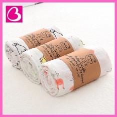 Khăn xô cuộn muslin đa năng cho bé 110×110