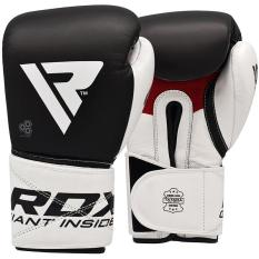 Găng tay boxing RDX BOXING GLOVES LEATHER S5 BLACK