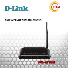 Router D-Link DSL-2730E ADSL2/2+ Wireless N 150Mbps