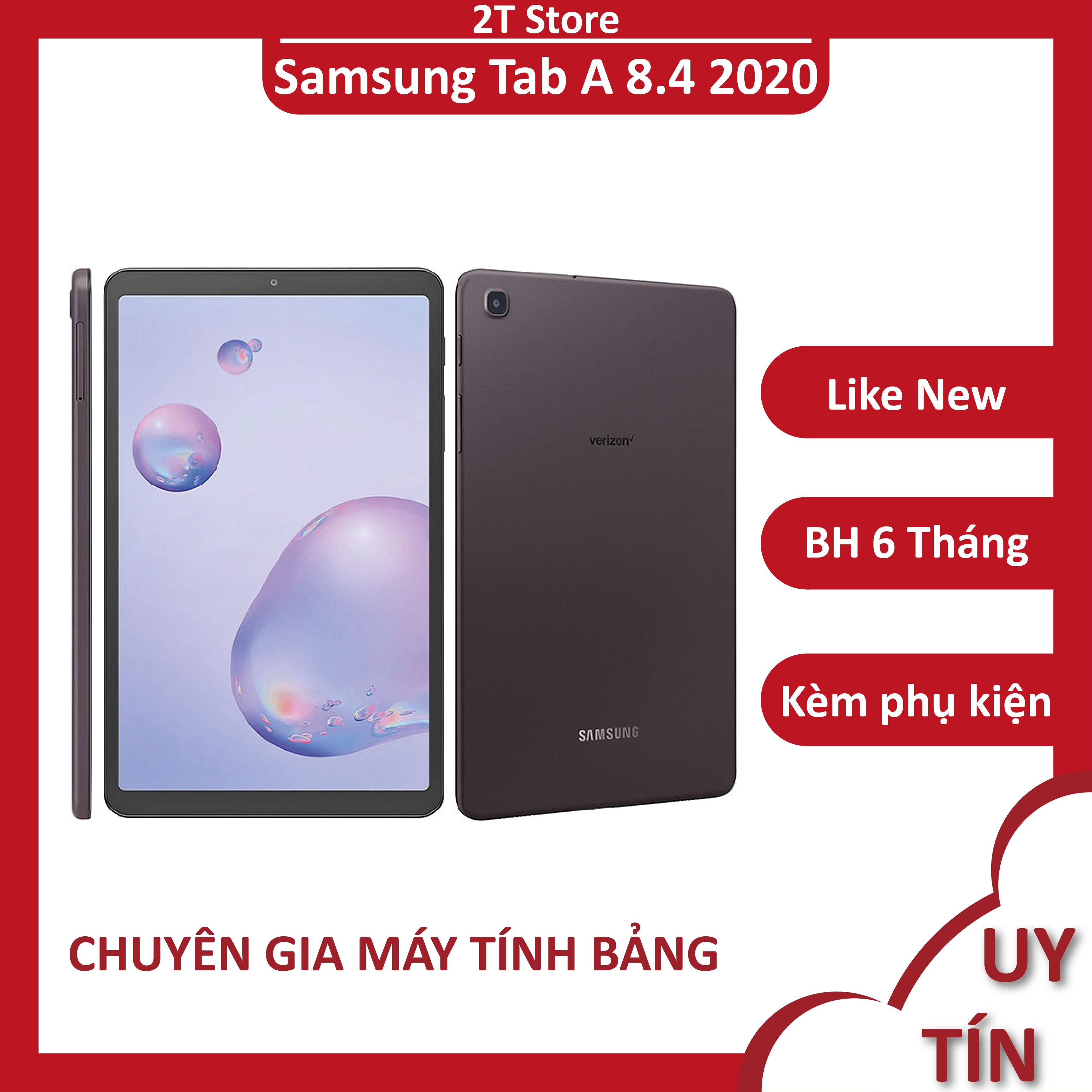 Máy tính bảng Samsung Tab A 8.4 2020 Android 10 lắp sim 4G
