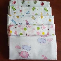 Khăn tắm xô in hoa văn 4 lớp – 2 lớp cho bé trai/bé gái