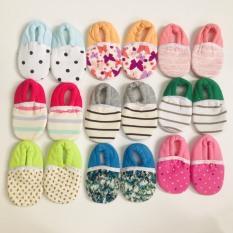 Set 2 đôi giày vải mềm tập đi cho bé HotGa nhiều màu – BEEKIDS PLAZA