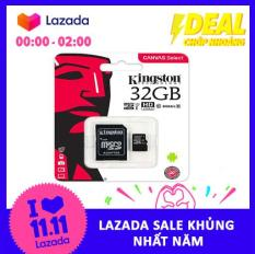 Thẻ nhớ MicroSDHC Kingston Canvas Select 32GB Class 10 U1 (SDCS/32GB)
