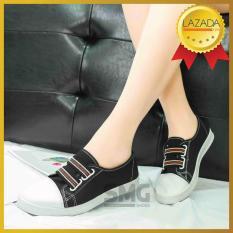 [DEAL HOT] Giày Bata Nữ có chun – Giày Bata Nữ Mới Nhất 2019, Giày Bata Vải Của Nữ, Giày Nữ Đế Mêm, Giày Vải Nữ, Giày Lười Nữ, Giày Vải Đi Hàng Ngày – Đổi Ngay Nếu Không Vừa – 4SMG010 – SMG Shoes