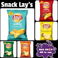 Bánh Snack khoai tây Lays đủ 7 vị ??Gói mới +20%?? 35g – Kim Chi Seoul (Mới)
