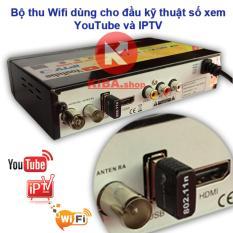Anten Wifi dùng cho đầu kỹ thuật số internet xem Youtube và IPTV