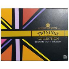 Bộ Sưu Tập Trà TWININGS OF LONDON hộp đen 60 gói x 2 g