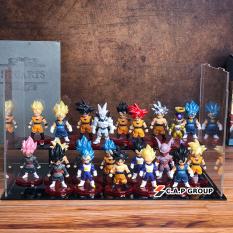 Mô Hình Dragon Ball Songoku Chibi mini Nhân Vật 7 Viên Ngọc Rồng đẹp – [ Kiểu 1 bộ 21 nhân vật ]