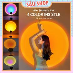 Đèn Led Chiếu Sáng Hoàng Hôn, Cầu Vồng, Mặt Trời – Siêu Hot TikTok (4 màu tiện dụng)