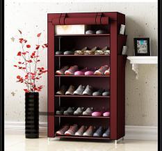 Tủ giày dép 7 tầng 6 ngăn bọc vải cao cấp giá rẻ – 99K CHỈ HÔM NAY / Kệ đa năng, giá để giày dép khung inox 7 tầng, ke giay dep cao cap