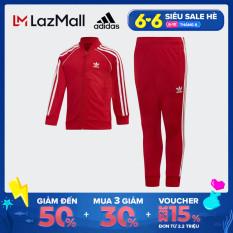 adidas ORIGINALS Bộ trang phục thể thao SST Unisex trẻ em Màu đỏ EI9866