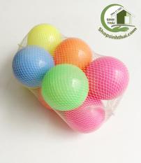 Túi bóng nhựa đồ chơi 10 quả lớn ( đường kính 8,5cm )