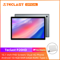 【NEW ARRIVAL】 Máy tính bảng Teclast P20HD Tablet PC/ 10.1 inch FHD Screen/4GB RAM 64GB ROM/Dual SIM Card Phablet/Intalled film/ Android 10 /Type-C/1 year warranty