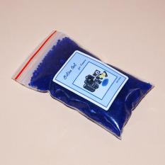Hạt hút ẩm xanh cho máy ảnh 100gr kèm túi đựng (Silica Gel)