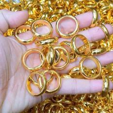 Nhẫn vàng tây nữ, nhẫn chỉ cô dâu làm lễ cưới thiết kế thời trang sang trọng Trang Sức Miga VN26081919 – đeo làm công sở cực sang chảnh và quý phái