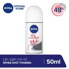 Lăn Khử Mùi Nữ Nivea Khô Thoáng 50ml – 81611