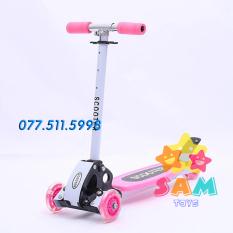 Xe trượt Scooter trẻ em cao cấp, giữ thăng bằng tốt, an toàn cho bé.