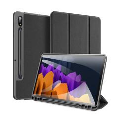 Bao da Dux Ducis Domo cho Samsung Galaxy Tab S7 Plus 12.4 inch/Tab S7 11 inch có khay đựng bút – An Nhiên Store