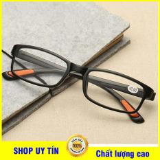 Kính lão thị viễn thị trung niên Nam nữ sẵn độ +1.00 đến +4.00 siêu dẻo mắt kính trắng sẵn độ cực sáng