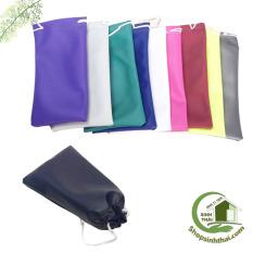 Túi vải đựng mắt kính nhiều màu – 10 x 19cm – giao màu ngẫu nhiên