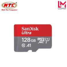 Thẻ nhớ MicroSDXC SanDisk Ultra A1 128GB Class 10 U1 100MB/s – box Hoa (Đỏ)