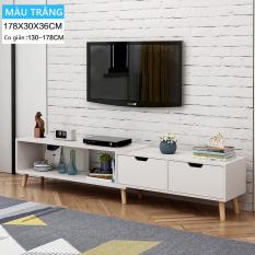 Tủ kệ Tivi gỗ đơn giản hiện đại phong cách Bắc Âu đồ nội thất cỡ nhỏ phòng khách)