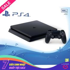 Bộ Máy Chơi Game Playstation PS4 slim 500GB Model 2218a (Đen)