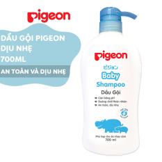 Dầu gội dịu nhẹ Pigeon 700ml Jojoba