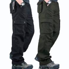 Combo 02 Quần Kaki Nam Kiểu Lính Phối Túi Thời Trang HNDC TinaStore 2QUAN NAM 049