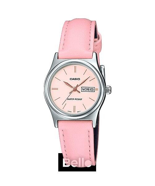 Đồng hồ Casio Nữ LTP-V006L-4B bảo hành chính hãng 1 năm – Pin trọn đời