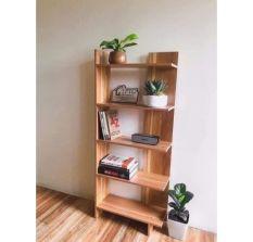 Kệ Sách Gỗ 5 Tầng- Kệ gỗ góc tường 0888830126