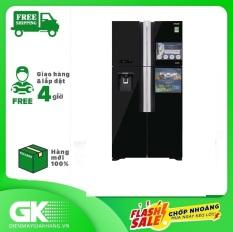 Tủ lạnh Hitachi Inverter 540 lít R-FW690PGV7X GBK, cảm biến nhiệt ECO tiết kiệm điện, công nghệ kháng khuẩn, khử mùi – Bảo hành 12 tháng.