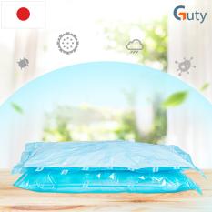 Bộ 4 túi chân không Kitai KT68 đựng quần áo, chăn màn, mền gối của Nhật Bản cỡ nhỏ kích thước 40x60cm – Guty Care