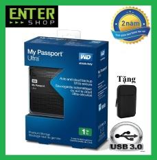 Ổ cứng di động WD My Passport Ultra 1TB Usb 3.0 Tặng túi chống sốc