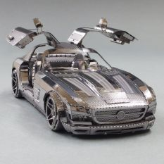 Mô Hình 3D Kim Loại Lắp Giáp Mercedes-Benz SLS AMG GT [Chưa Lắp]