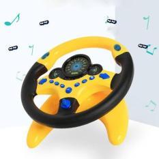 Vô lăng lái xe đồ chơi dành cho trẻ em phù hợp cho cả bé trai lẫn bé gái được làm bằng chất liệu nhựa an toàn cho sức khỏe của bé và có đèn nhấp nháy hiệu ứng âm thanh sống động