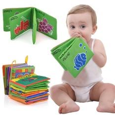 [Flash Sale] Sách vải cho bé – sách vải kích thích thị giác với nhiều chủ đề bằng tiếng anh giúp bé vừa học vừa chơi