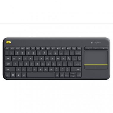 Bàn phím không dây Logitech K400 Plus (Đen) - Hãng phân phối chính thức