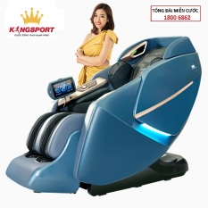 Ghế massage Kingsport G62 – ghế massage toàn thân cao cấp,tự động mát xa đa năng, túi khí xoa bóp giảm đau
