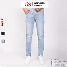 Quần Jean Nam 5S ( 2 màu), Chất Liệu Vải Bò Cao Cấp, Co Giãn Thoải Mái, Phom Dáng Trẻ Trung (01)