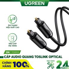 Cáp audio quang Toslink Optical hỗ trợ âm thanh 5.1/ 7.1 dài 1-3m UGREEN 70890