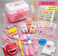 Bộ đồ chơi bác sĩ cho bé loại đẹp đồ chơi nhập vai trang phục bác sĩ đồ chơi ý tế đồ chơi cho bé đồ chơi trẻ em the world wallet store