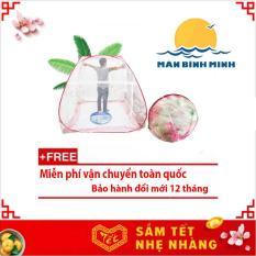 Màn chụp chống muỗi Tự Bung Gấp Gọn Thông Minh 1m8 x 2m siêu bền (Loại đỉnh rộng) – Hàng Việt Nam