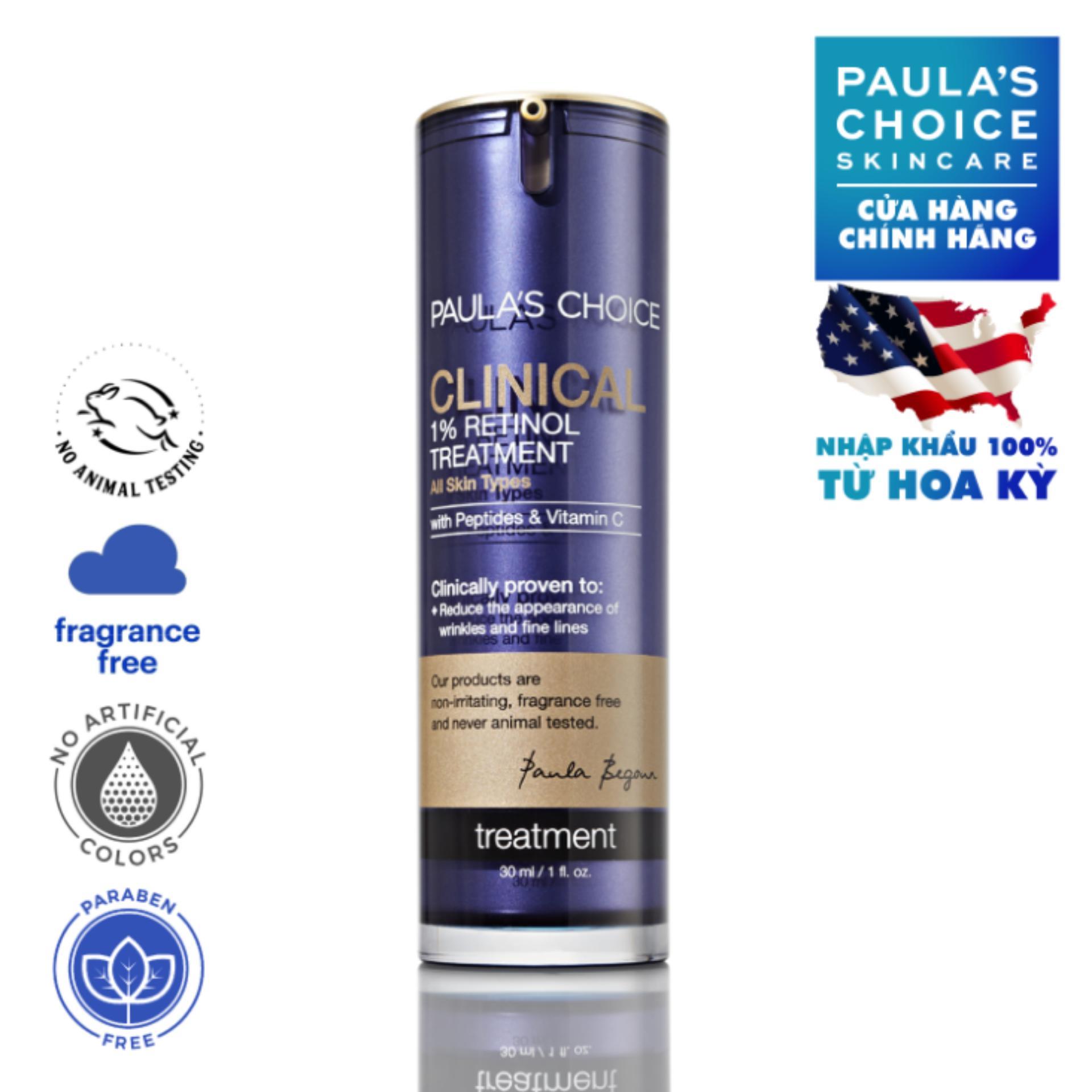 Tinh chất điều trị độc đáo 1 Retinol Paula's Choice Clinical 1% Retinol Treatment 30 ml