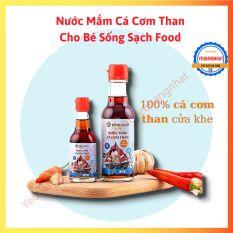 Nước Mắm Cá Cơm Than Cho Bé Sống Sạch Food chai 60ml (Làng nghề truyền thống Nước Mắm Cửa Khe)